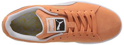 Puma Suede Classic, Scarpe da Ginnastica Basse Unisex – Adulto Arancione (Melon-puma White)