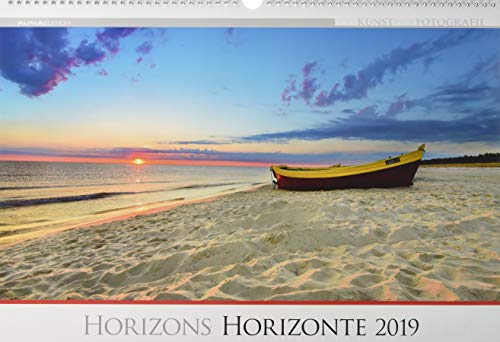 Die Kunst der Fotografie - Horizonte 2019 - Bildkalender quer (50 x 34) - Landschaftskalender - Naturkalender