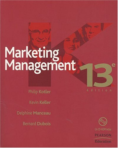 Marketing Management (1Cédérom) par Philip Kotler