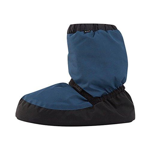 Warm up bootie Bloch IM009 fluo blue gris clair