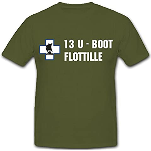 13. U-Boot FLOTTIGLIA Marine WK 2 wh Stemma Marling -