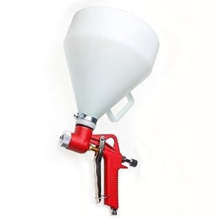 221471 Hopper Futtermittel Farbspritzpistole Außenseite aus Kunststoff, 5 l, 4 mm, 6 mm, 8 mm