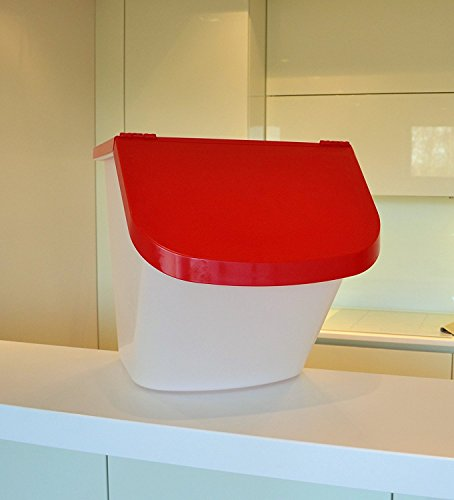 Scandibake Bakers Bin - Lagerbehälter mit Deckel - 15 Liter Zutatenbehälter - für Teig - 1 Jahr Garantie