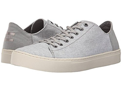 TOMS Men's Lenox Drizzle Grey Slub Chambray 11 D US (Lenox Oxford)