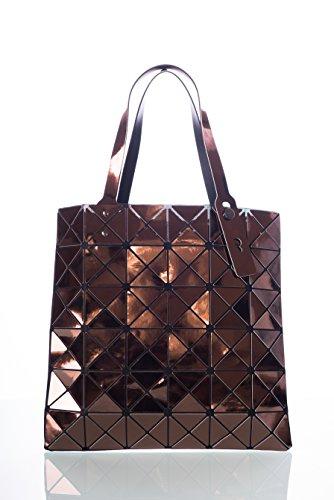 CUBIC STYLE geometrica (33 cm x 33 cm) borsa STAR lucida rame