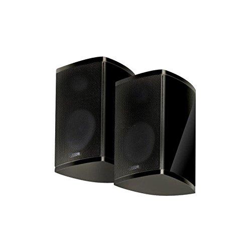 Canton 03004 Satelliten-Lautsprecher (Nenn-/Musikbelastbarkeit: 45/100 Watt) 1 Paar schwarz