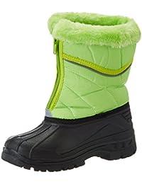 Playshoes Unisex-Kinder Winterstiefel mit Warmfutter, Reißverschluss Schneestiefel