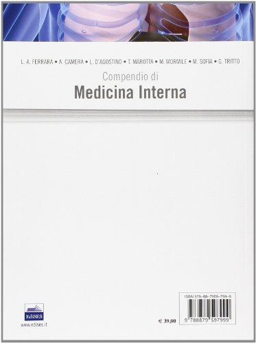 Zoom IMG-1 compendio di medicina interna