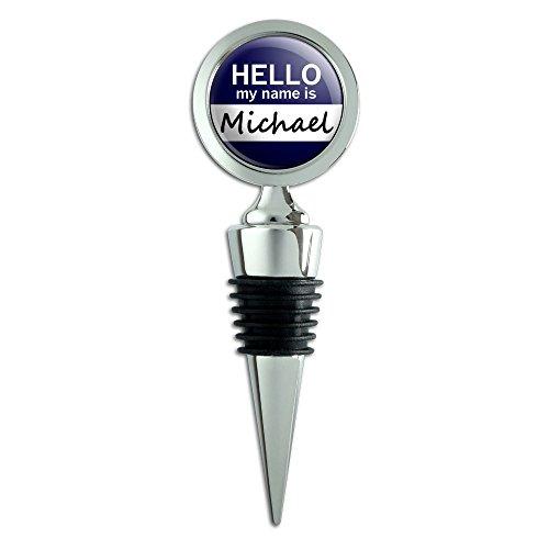 michael-hello-my-name-is-bouchon-pour-bouteille-de-vin
