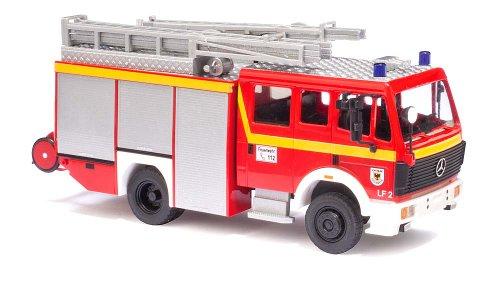 Busch Voitures - BUV43855 - Modélisme Ferroviaire - Mercedes Benz MK 88 1222 - Pompier