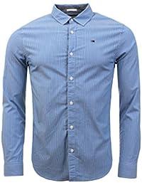 Hilfiger Denim Herren Hemd  Thdm Basic Sl Stretch Y/D Shirt L/S 16