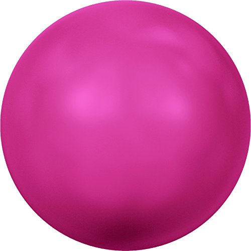 Cristaux de Swarovski 1172437 Perles Nacrées 5811 MM 14,0 Crystal Neon Pink Pearl, 50 Pièces