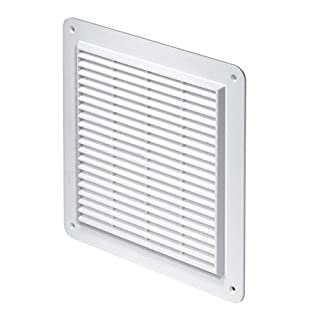 Awenta T28 Ventilation Grate Insect Screen 250 x 250 mm White