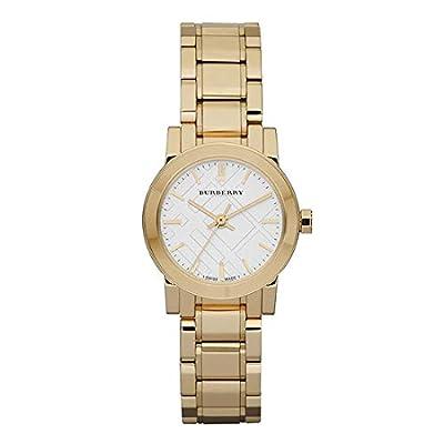 Burberry Watch, Women's Swiss Gold Ion Plated Stainless Steel Bracelet 26mm BU9203