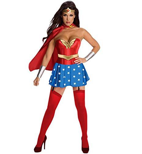 Mary home Wonder Woman kostüm Damen Sexy Damen Übermensch Kleider Wunder Frau Rollenspiel im Superman-Anzug