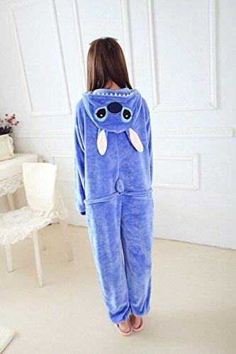 orologio offrire estetica di lusso Minetom Blu Stitch Kigurumi Pigiama Unisex Adulto Cosplay ...