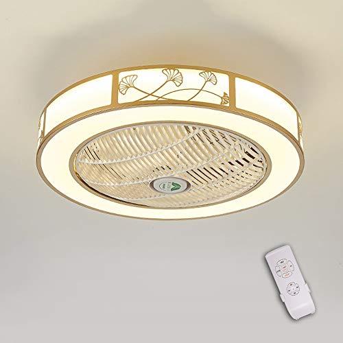 LED invisible ventilador de techo luz, moderna LED Ventilador de techo Lámpara...