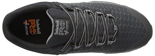 Timberland Pro Men s Powertrain Sport Alloy Toe EH Industrial and Construction Shoe  Black Synthetic  9 5 M US