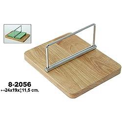 DonRegaloWeb - Servilletero de madera y metal en color madera y acero