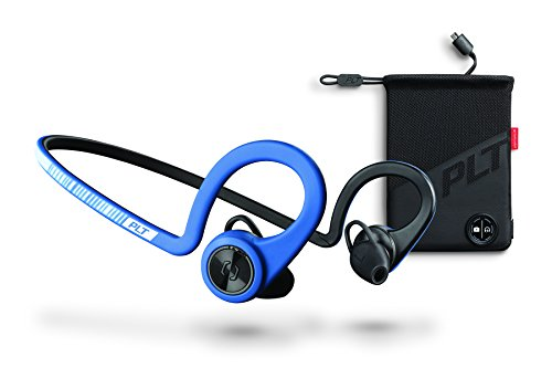 Plantronics - Cuffie sportive senza fili BackBeat FIT Power Blue Boost Edition