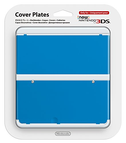 Nintendo New 3DS Coverplate 010 Blue [Nintendo 3DS Kisekae Cover Plate]
