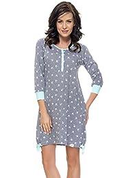 dn-nightwear - Louisa - Camisón de mujer - Apto para embarazo y lactancia