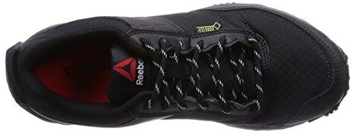 Reebok - Franconia Ridge II GTX, Scarpe sportive Donna Multicolore (Black / Gravel / Chalk / Neon Cherry)