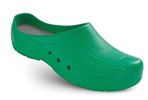 Schürr ORTHOClogs OP-Schuh mit und ohne Fersenriemen Unisex Grün