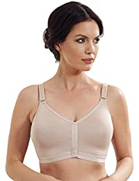 ac25b985cd7 Royce Caress Post Surgery Skin Wirefree Mastectomy Bra with Silver Thread  1008
