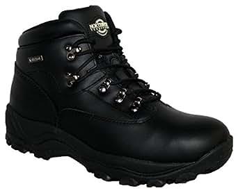 MENS INUVIK FULLY WATERPROOF LACE UP WALKING/HIKING TREKKING BOOT BLACK 6