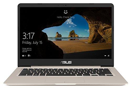 ASUS VivoBook S14 S406UA-BV121T - Ordenador portátil de 14' HD (Intel Core i5-8250U, 8 GB RAM, 256 GB SDD, Windows 10 Home) metal oro - teclado QWERTY Español
