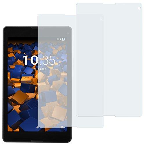 mumbi Schutzfolie kompatibel mit Medion Lifetab P8514 Folie klar, Bildschirmschutzfolie (2x)