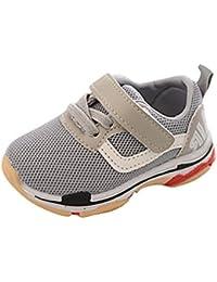 PAOLIAN Verano Zapatos Para Bebé Para Niña y Niños Rejilla Zapatos de Niñito Antideslizante Breathable Alfabeto