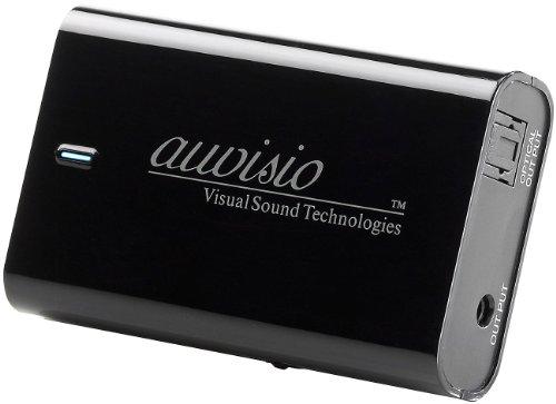 auvisio WLAN Audio Empfänger: AirMusic WLAN-Empfänger für Musik-Streaming Toslink APD-250.am (Internetradio für HiFi Anlage)