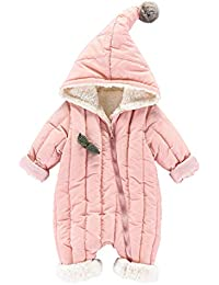 Schneeanzug Winter Overall mit Kapuze Mädchen rosa Cupcakes