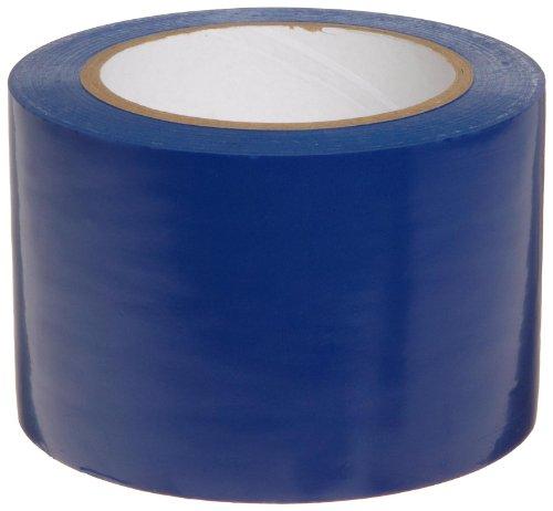 """Brady 108de longitud, 3""""Ancho, B-725cinta de vinilo, color azul cinta adhesiva de pasillo"""