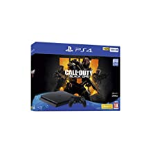 Sony PlayStation 4 500GB Console (Black) with Call of Duty Black Ops 4 Bundle