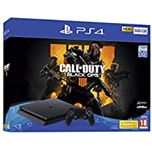 Sony PlayStation 4 500GB Console (Black) with Call of Duty: Black Ops IIII Bundle