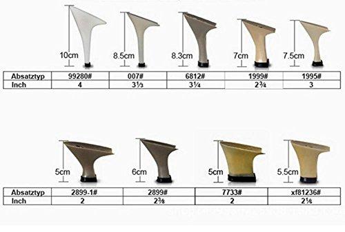 Donne Scarpe da ballo PU Taogo latino DanzaPompe Sandali Taglia 36To41 8.5cm Heel