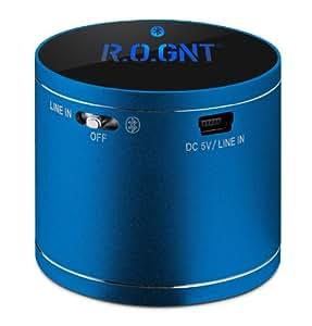 R.O.GNT 1002-45, Enceinte sans fil,bluetooth,  , enceinte avec vibration , lecteur MP3 , Puissance :3 Watt, pour  Smartphone, iPhone, Ipod, Ordinateur portable et Tablette.