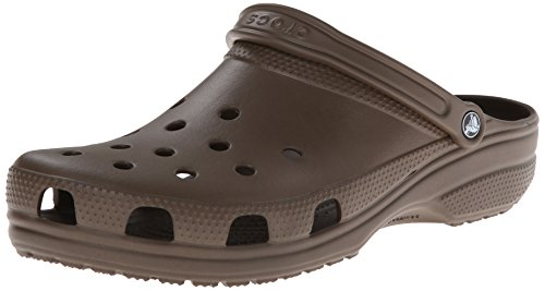 Crocs Classic, Sabots mixte adulte Braun (Chocolate)