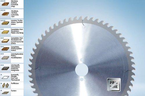 Sierra circular con hoja de sierra de carburo de 355 x 30 dientes=60