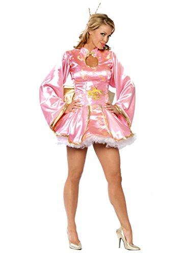 Kostüm pink - Gr. M/L (Drachen Geisha Kostüme)