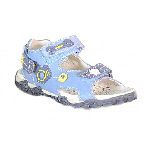 Primigi - Primigi Sandaletti Bambino Azzurri Pelle Strappi 62080 Bleu