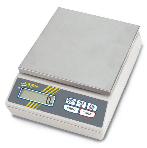 Basic laboratory balance [Kern 440-51N] Weighing plate, Weighing Range [Max]: 4000 g, Readout [d]: 1 g