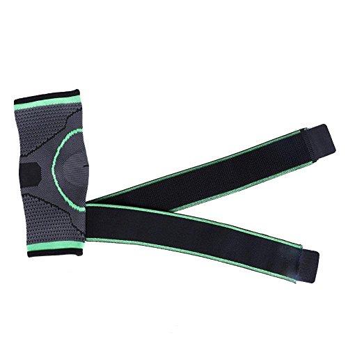 Protector protector de tobillo protector de compresión de la armadura de la armadura de los deportes de la armadura 3D Soporte de nylon vendaje de la envoltura de la compresión Protector de tobillo li(XL)