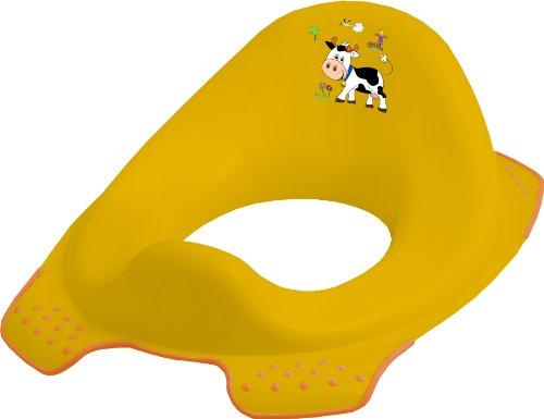 """keeeper 18650456063 ewa \""""funny farm\"""" kinder-toilettensitz mit anti-rutsch-funktion sunny apricot"""