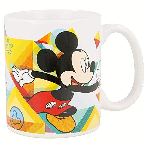 MICKEY MOUSE Tasse en céramique 325 ml dans une boîte cadeau Color Flow (78121), ne s'applique pas