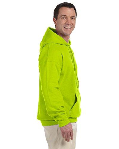 Gildan Dry misto® Adulto Felpa Con Cappuccio Safety Green