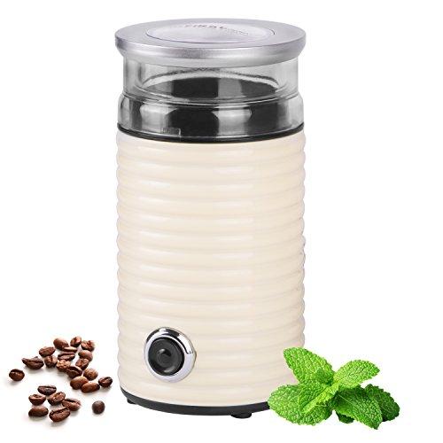 160 Watt Retro Kaffeemühle für 65g elektrische Edelstahl Universalmühle